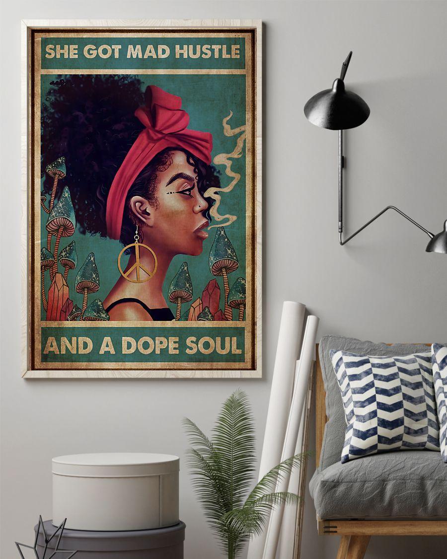 Afro Mad Hustle She Got Mad Hustle Poster