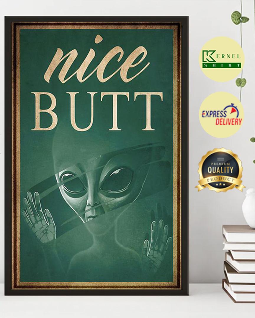 Alien nice butt poster