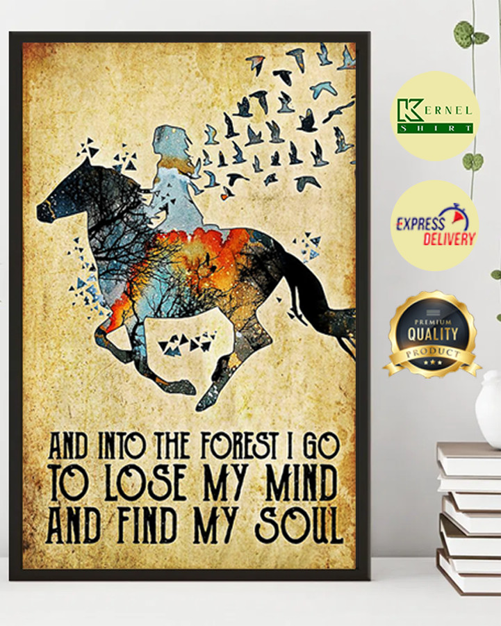 And into the forest i go to close my mind poster 2