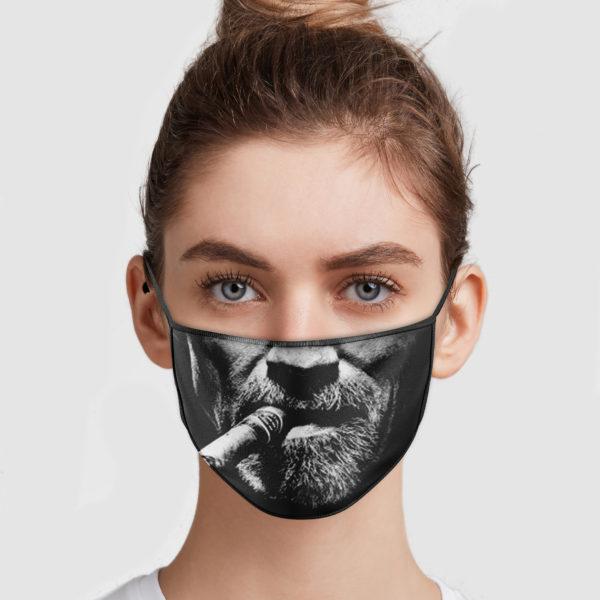 Arnold Schwarzenegger Cigar Cloth Face Mask