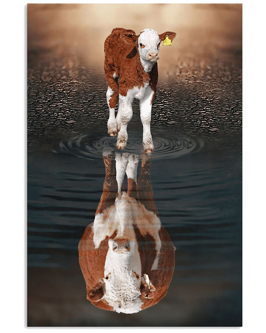 Believe In Yourself - Hereford Vertical Poster