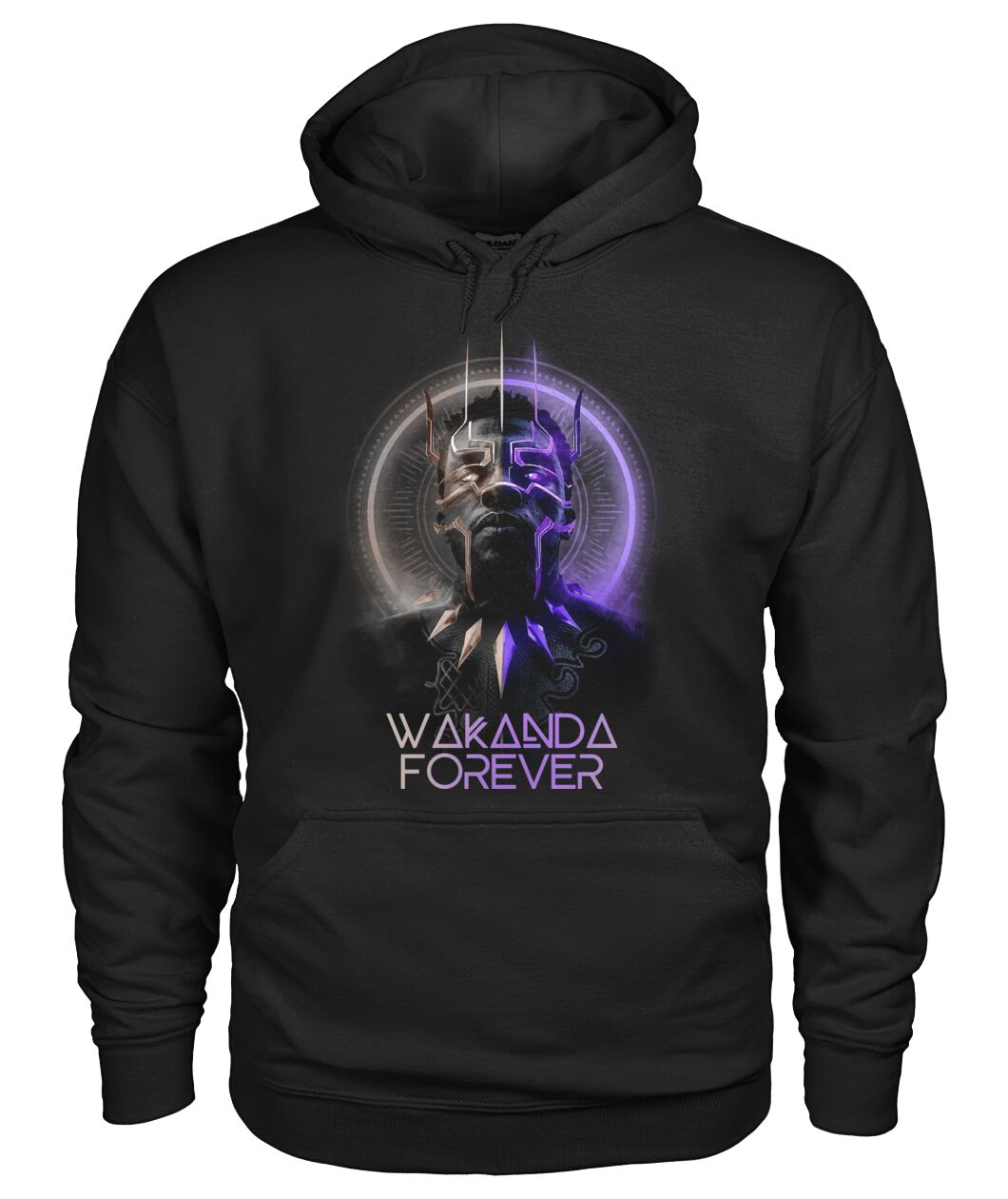 Black Panther Chadwick Boseman Wakanda Forever Hoodie