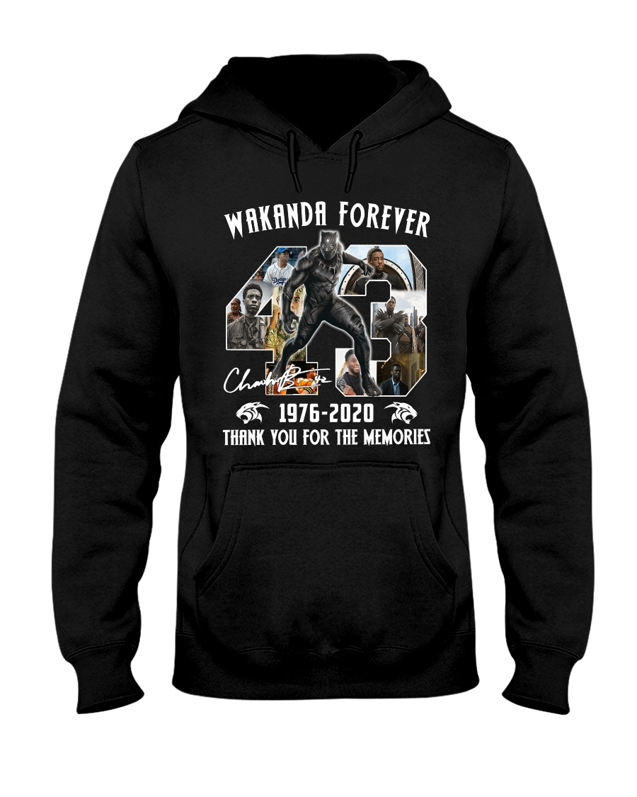 Black Panther Wakanda Forever Thank For The Memories Hoodie