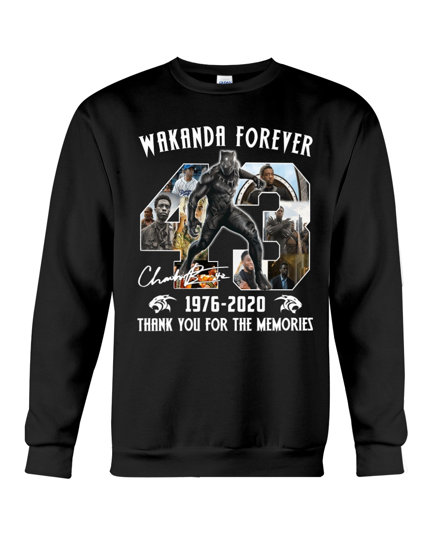 Black Panther Wakanda Forever Thank For The Memories Long Sleeve