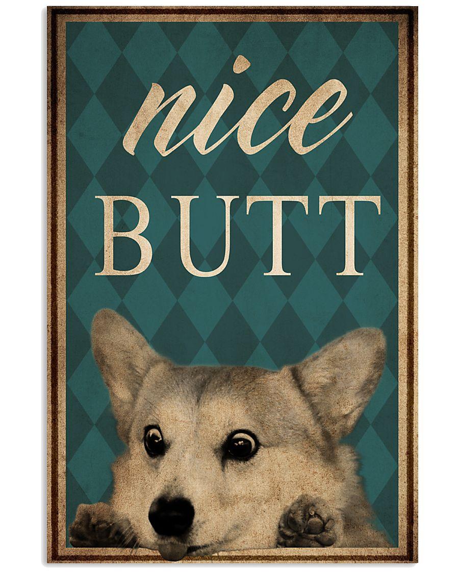 Dog Corgi Nice Butt Poster