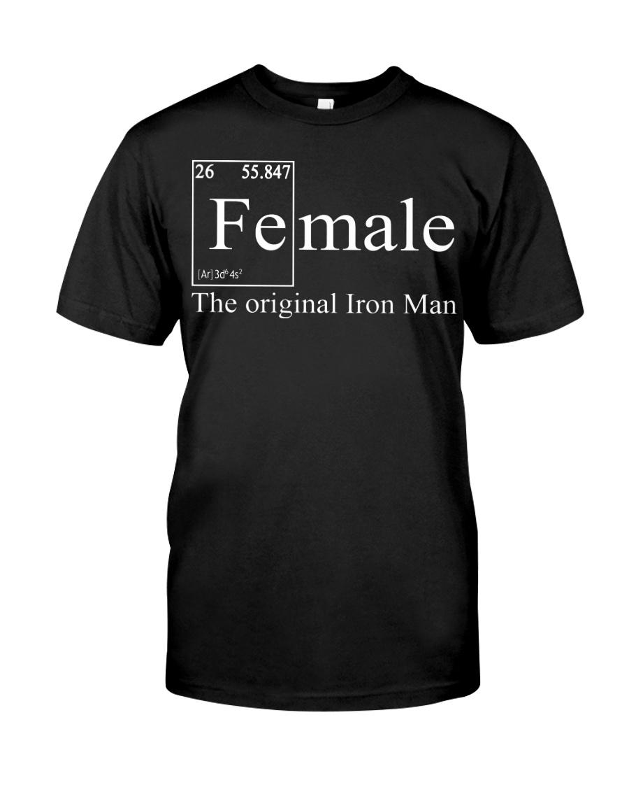 Female Chemistry The Original Iron Man Shirt