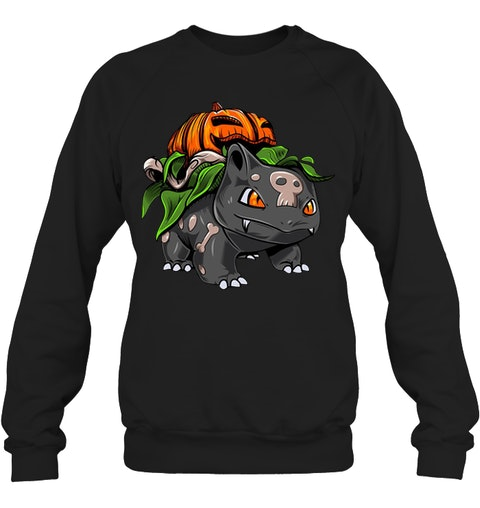 Gift For Halloween Bulbasaur Halloween Long sleeve