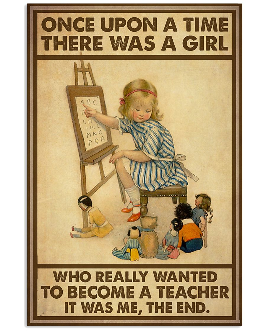 Girl OUAT Wanted To Become Teacher Poster