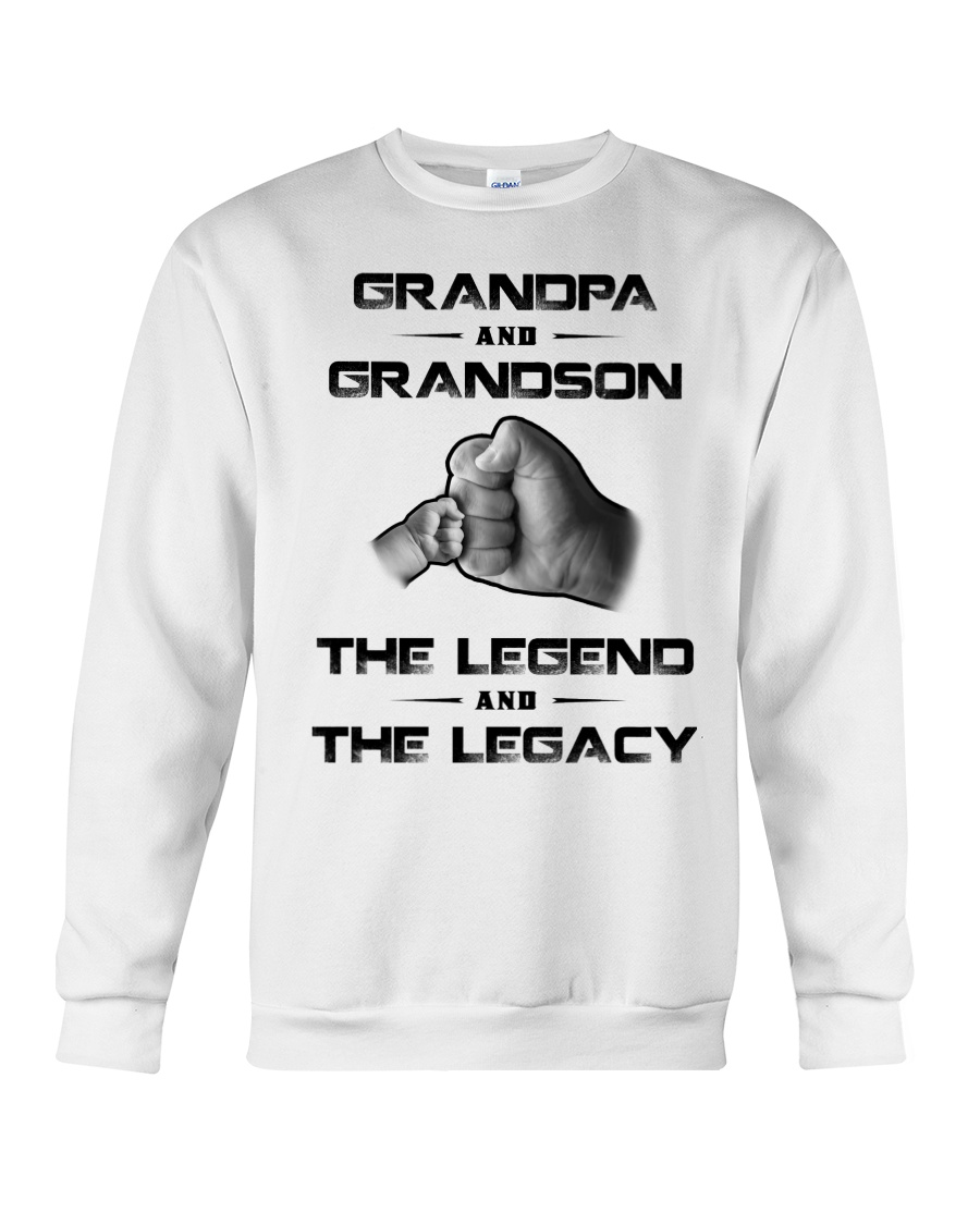 Grandpa And Grandson The Legend And The Legacy Long Sleeve
