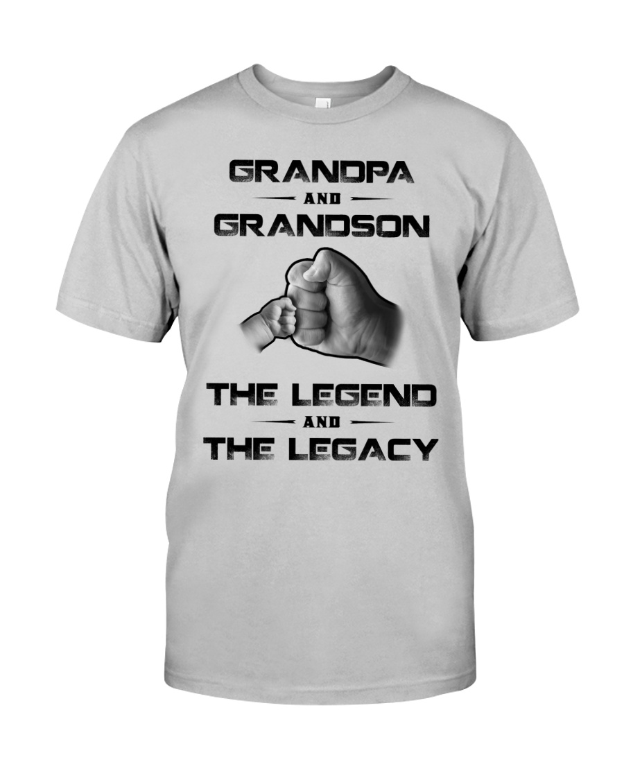 Grandpa And Grandson The Legend And The Legacy Shirt