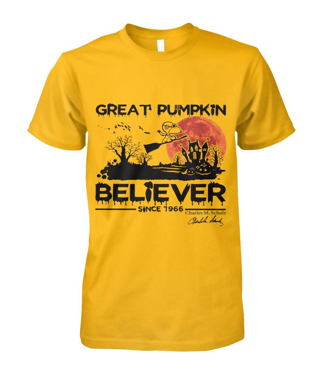 Great Pumpkin Believer 1996s Fans Shirt