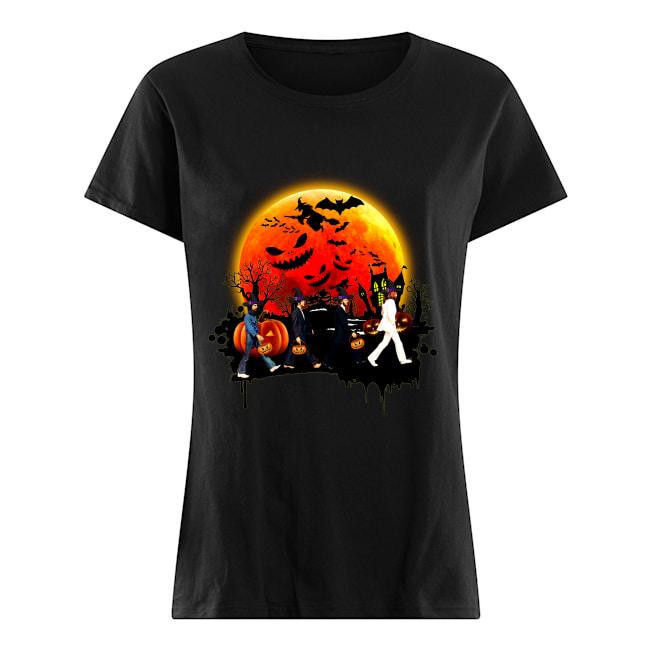 Halloween Pink Floyd Women Shirt