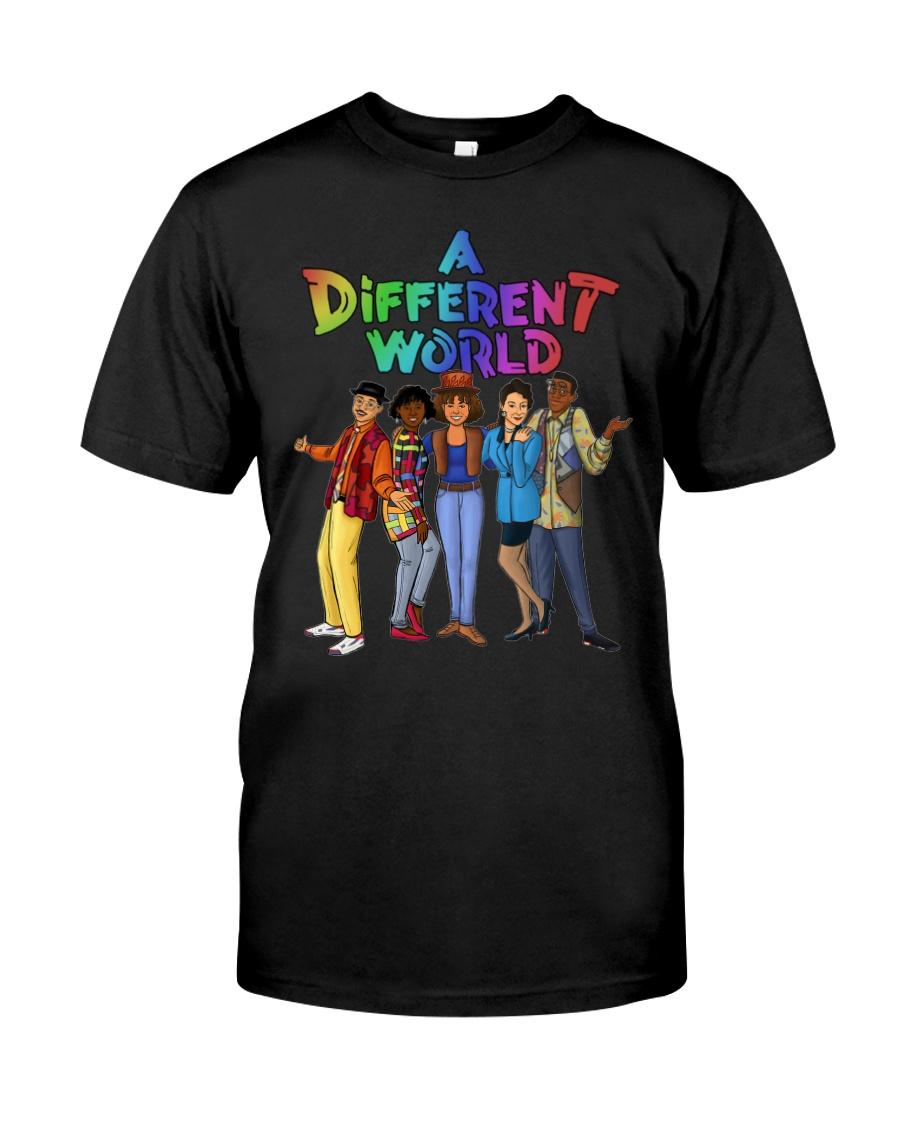 LGBT a different world shirt