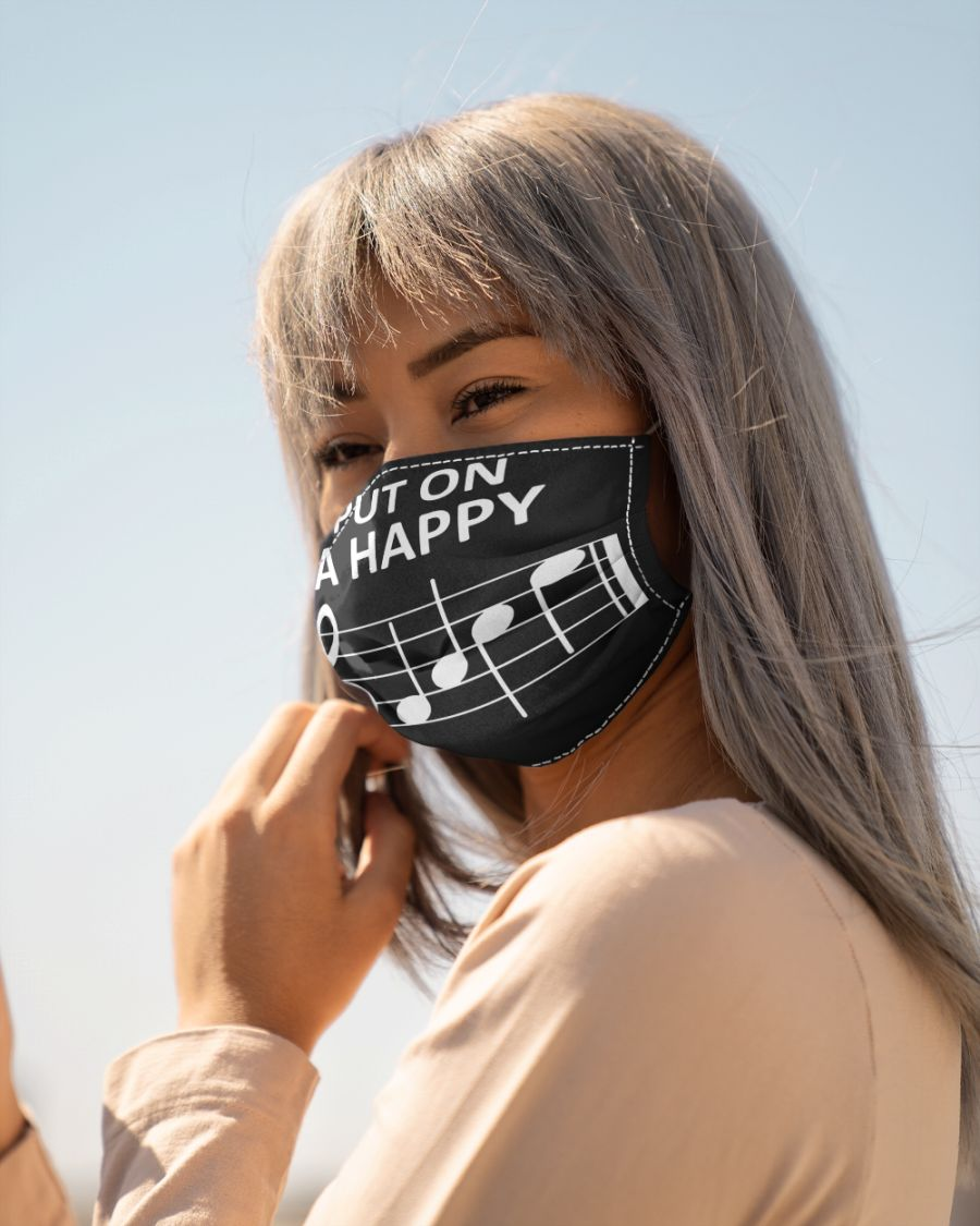 Music Put On A Happy Face Mask