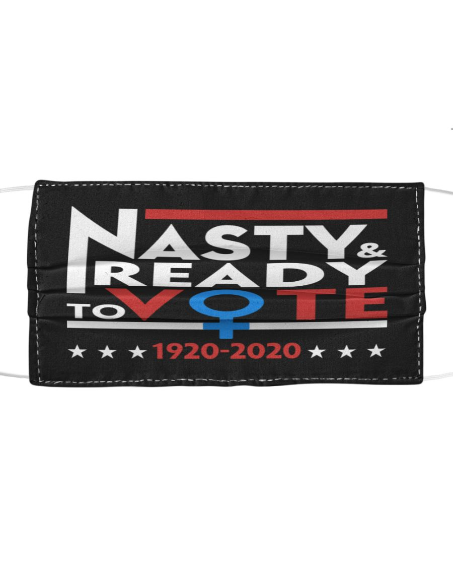 Nasty Ready To Vote 2020 Face Mask