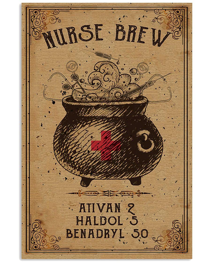Nurse brew Poster