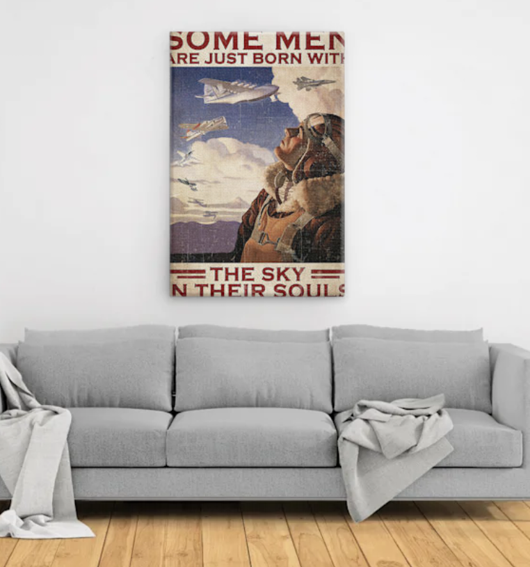 Pilot Some men are just born with the sky in their souls poster