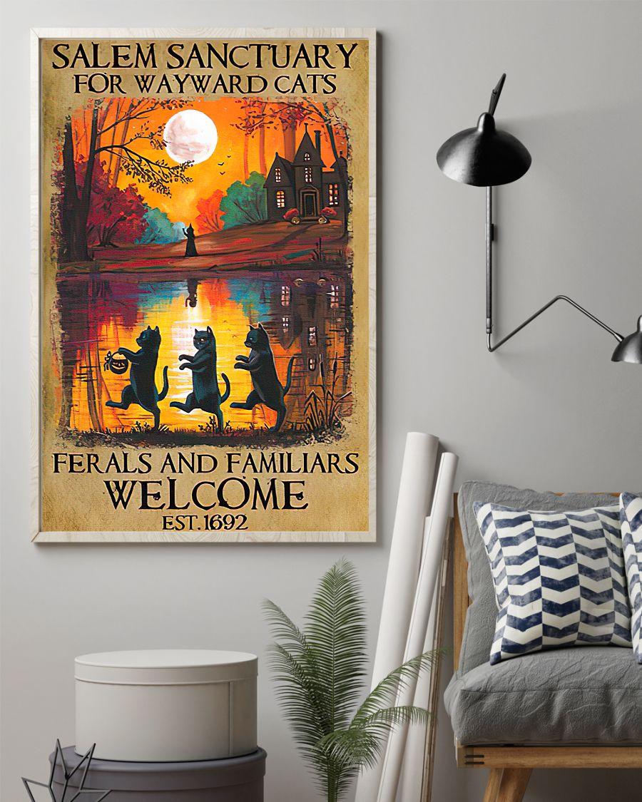 Salem Sanctuary for Wayward Cats Poster Poster