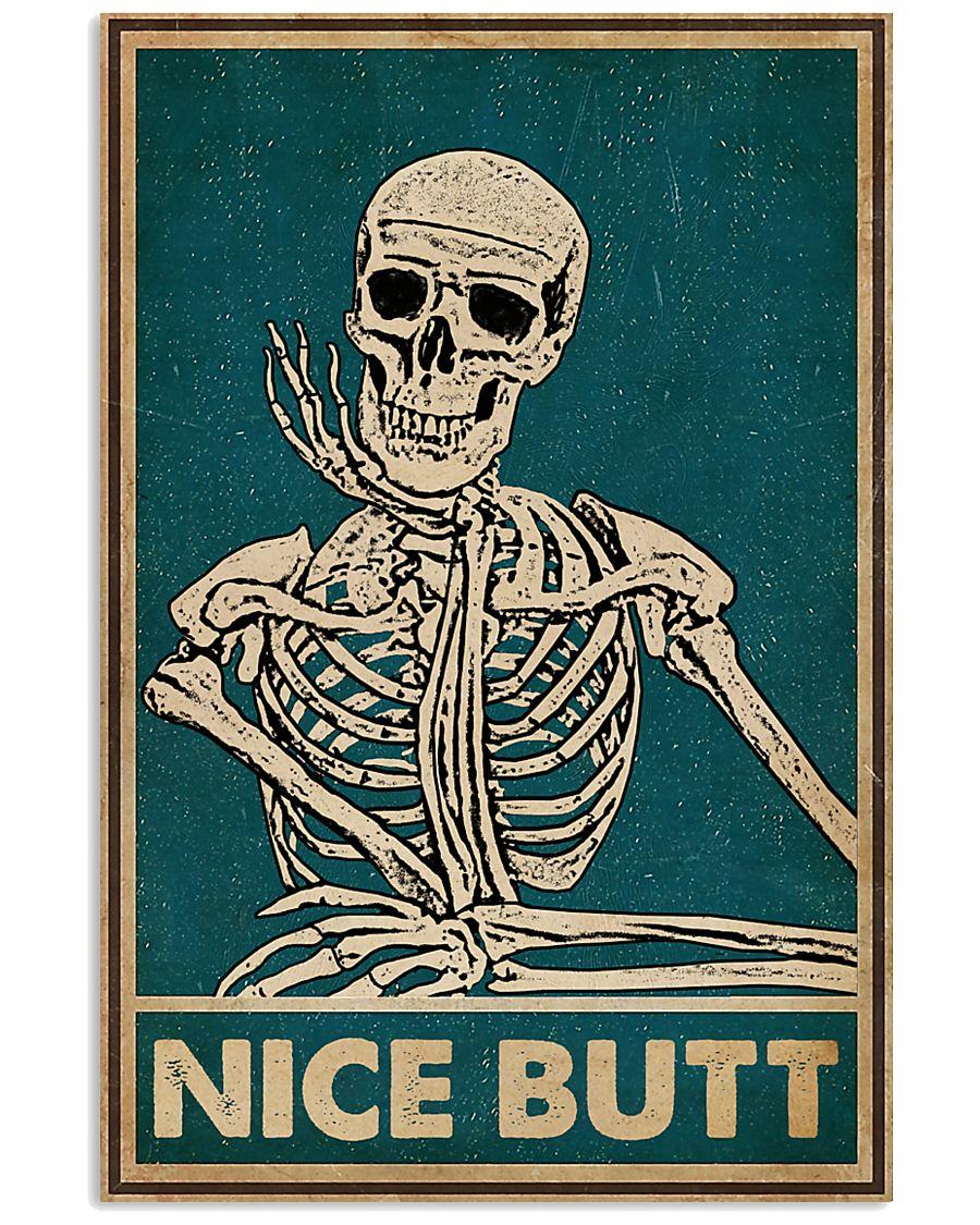 Skeleton Nice Butt poster
