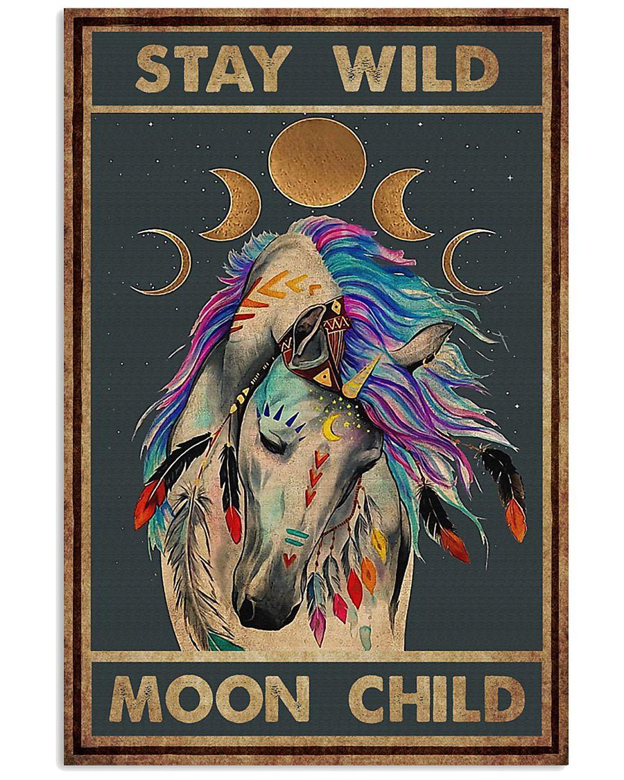 Stay Wild Moon Child Unicorn Poster