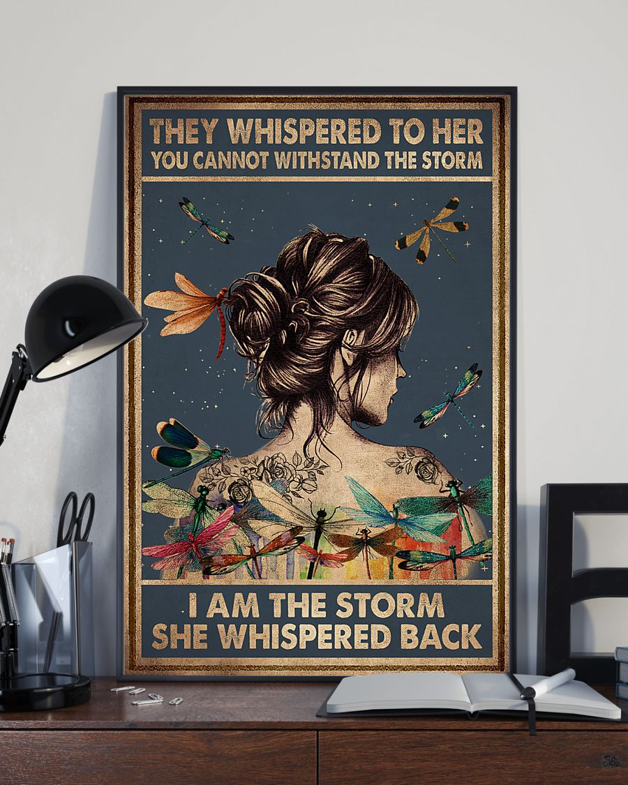 They whispered to her, i am the storm poster