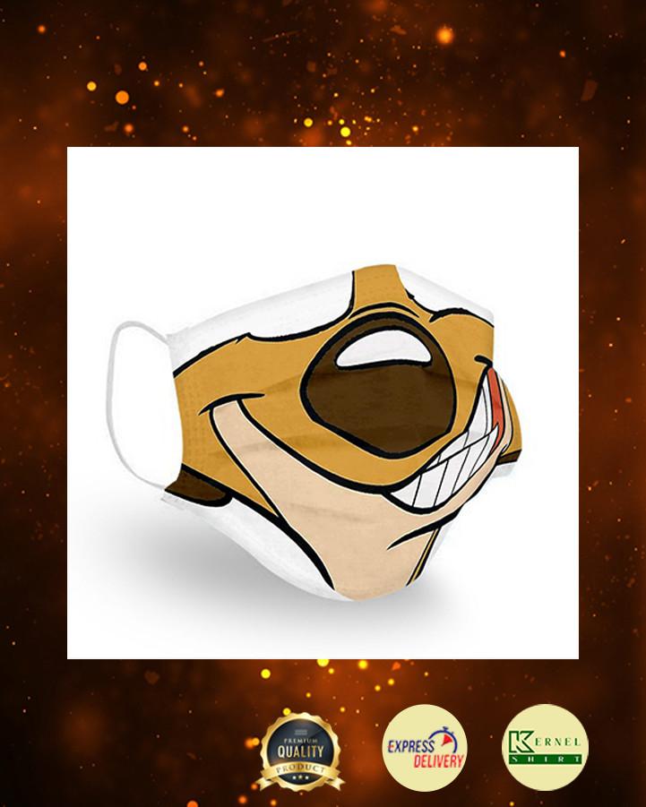 Timon lion king hakuna matata face mask