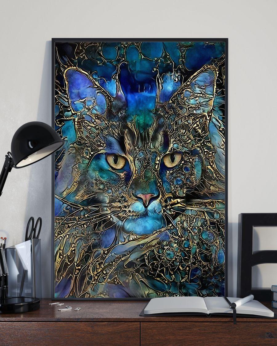 Trippy Cat Art Posterz