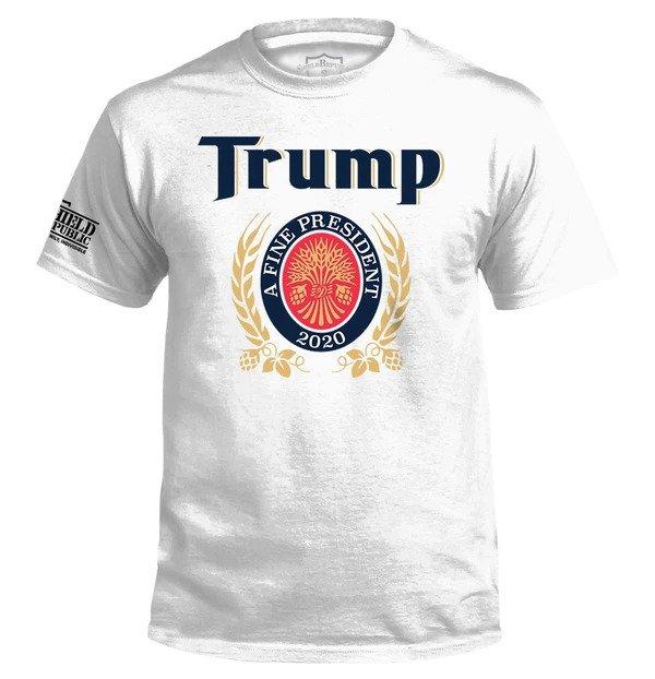 Trump The Finest President 2020 Shirt