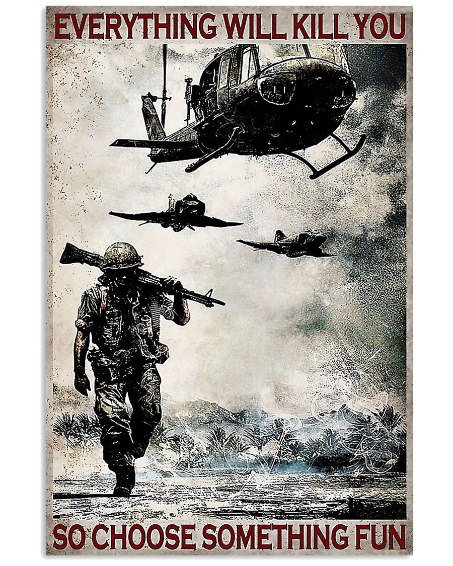 Veteran Choose Something Fun Poster
