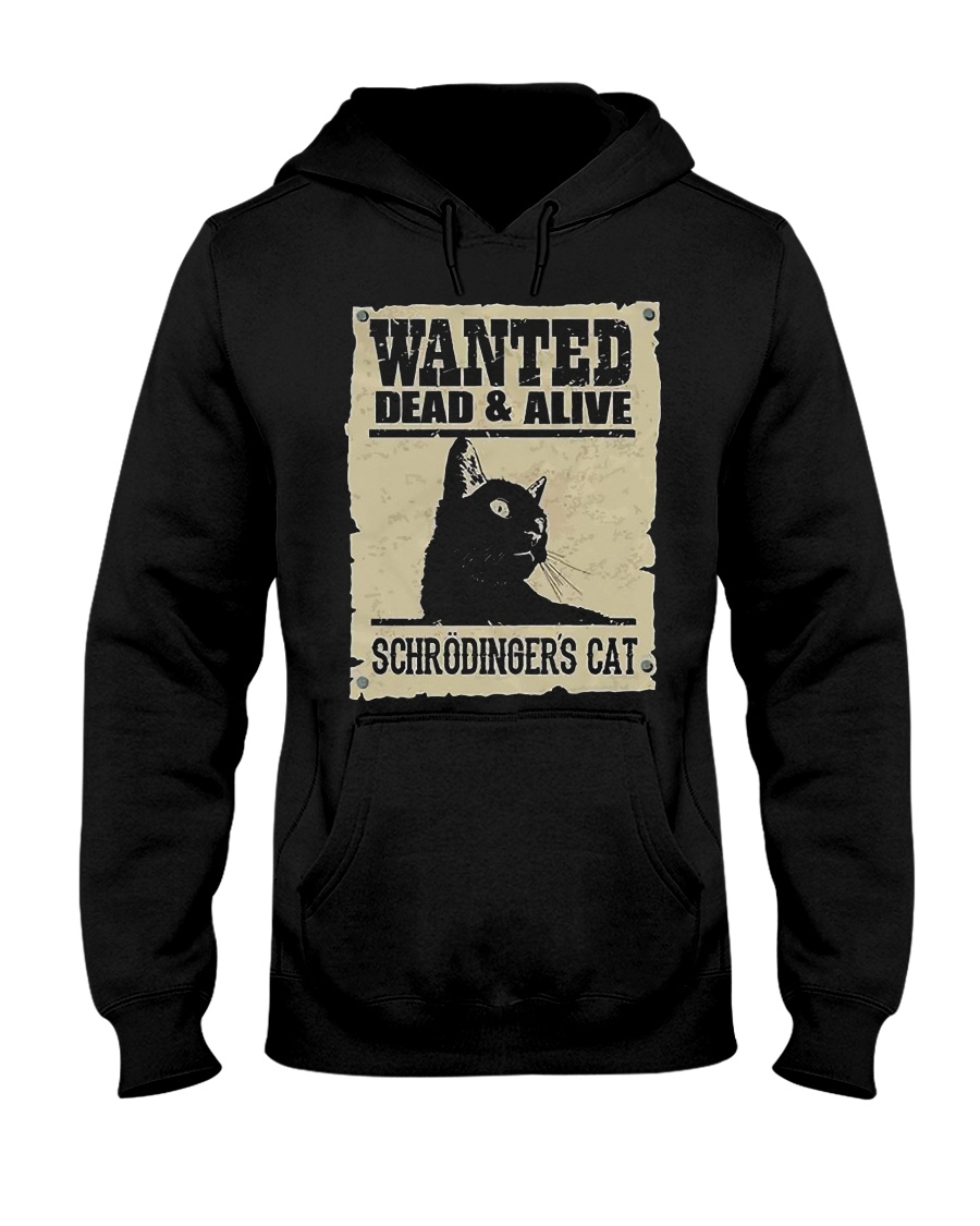 Wanted Schrodinger Cat Hoodie
