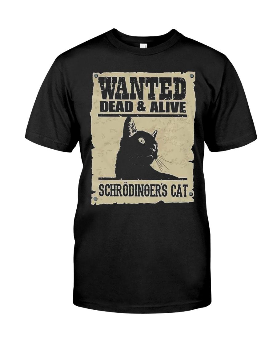 Wanted Schrodinger Cat Shirt