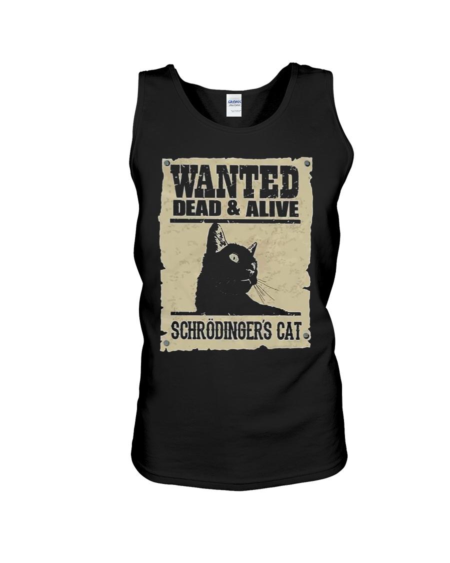 Wanted Schrodinger Cat Tank top