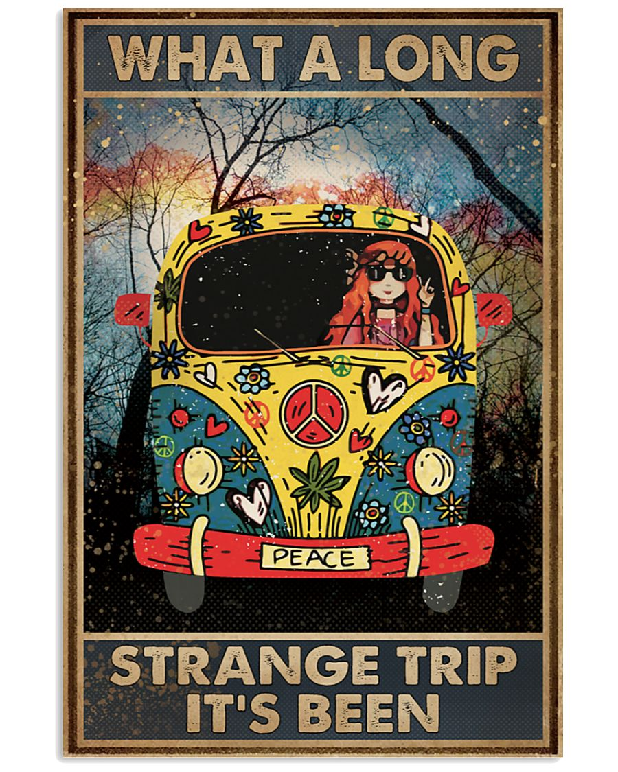 What A Long Strange Trip It's Been Hippie Posterz