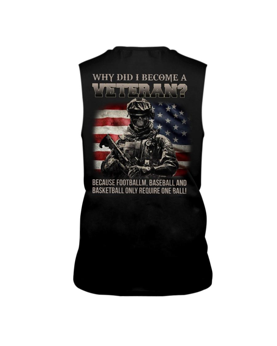 Why Did I Become A Veteran Shirt Tank Top