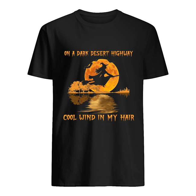 Witch On A Dark Desert Highway Shirt