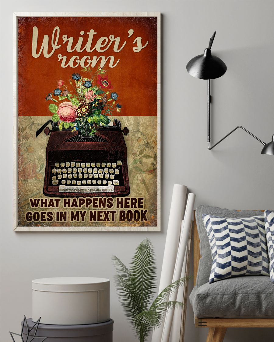 Writer's Room What Happens Here Goes In My Next Book Posterz