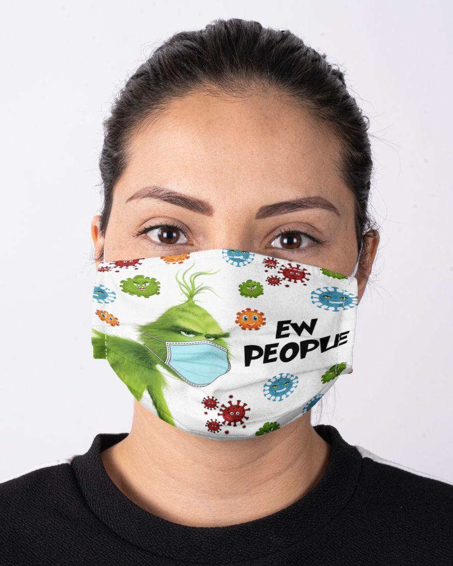 corona virus ew people face mask