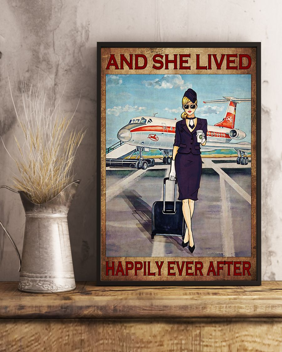 flight attendant she lived and happily ever after poster 3