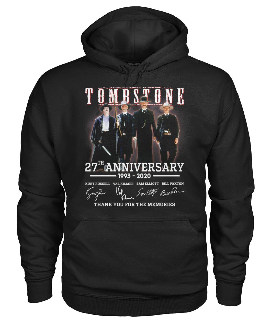tombstone 27th anniversary signature hoodie