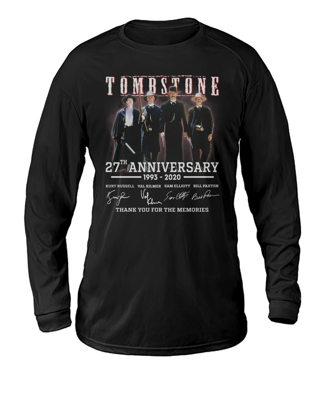 tombstone 27th anniversary signature long sleeve