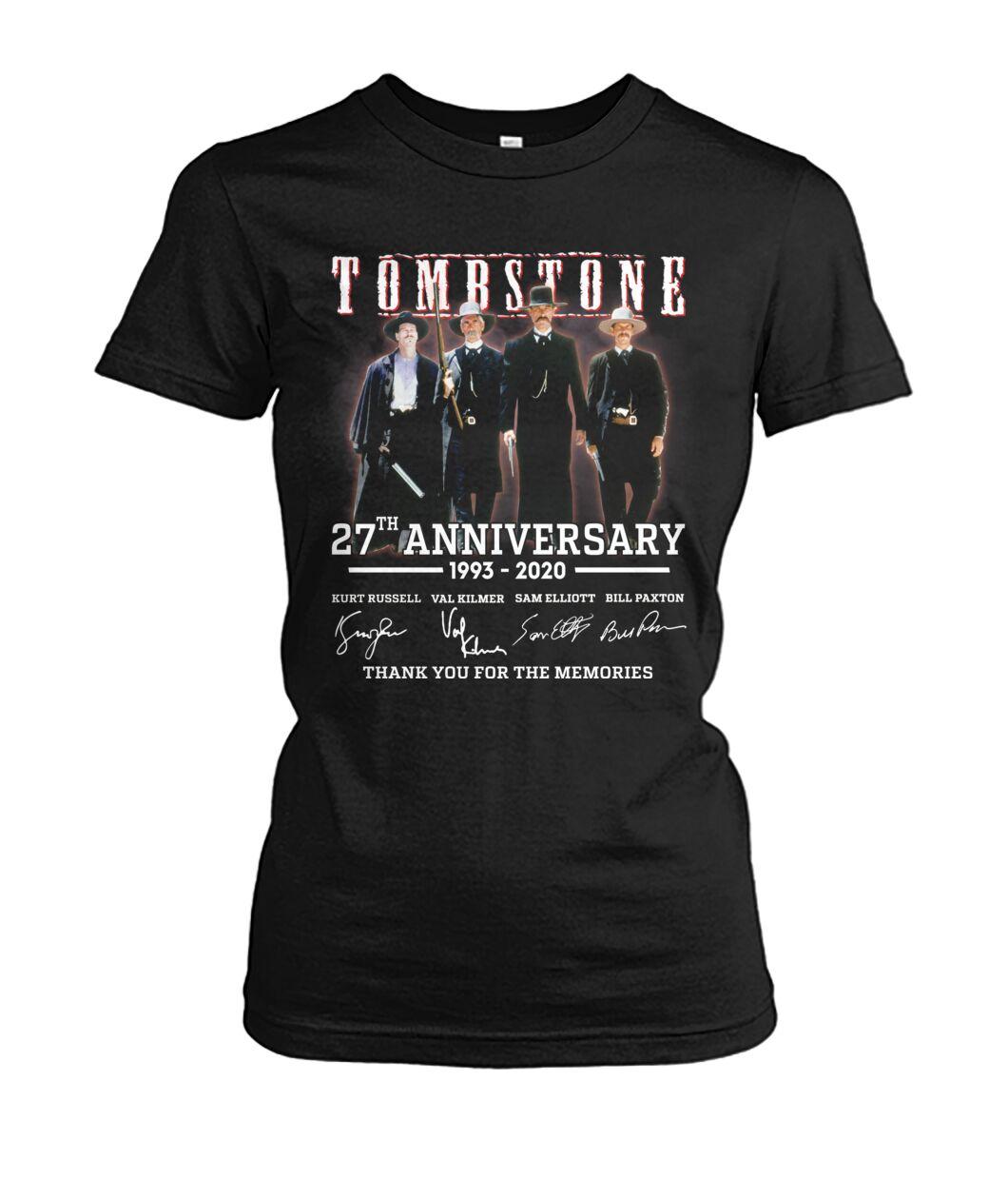 tombstone 27th anniversary signature shirt
