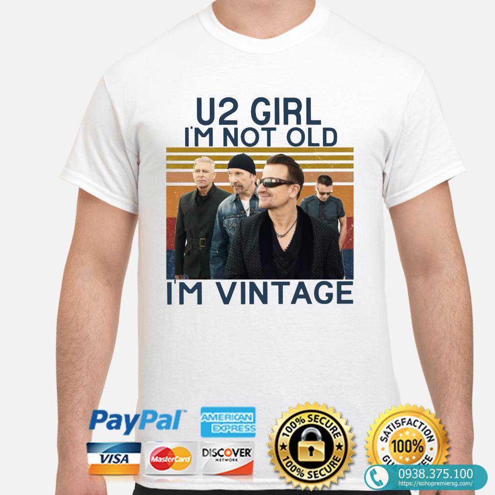 u2 girl im not old im vintage signatures shirt 1