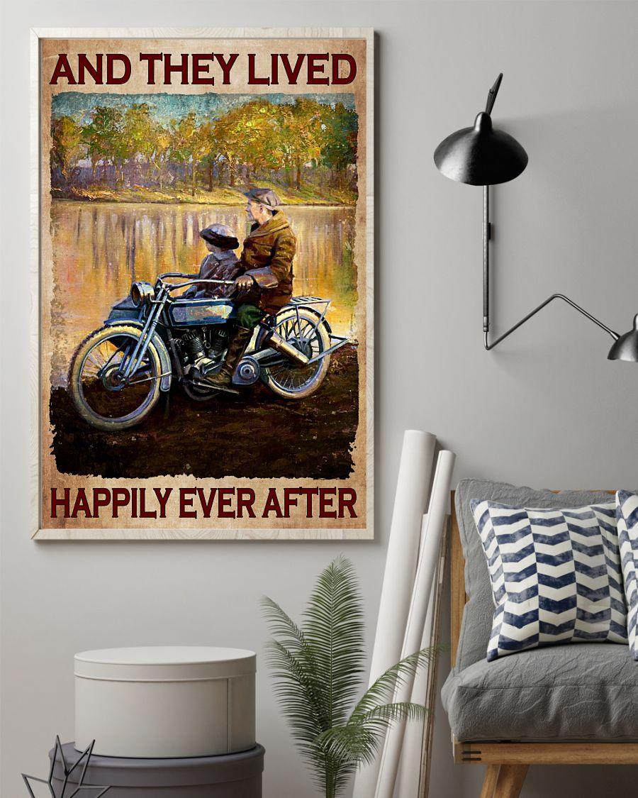 Sale Off Grandma And Child And They Lived Happily Ever After Poster