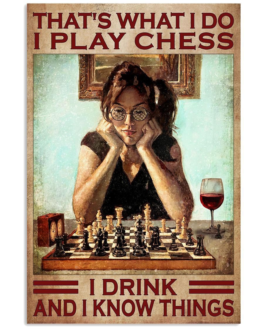 Fantastic I Play Chest I Drink And I Know Things Poster