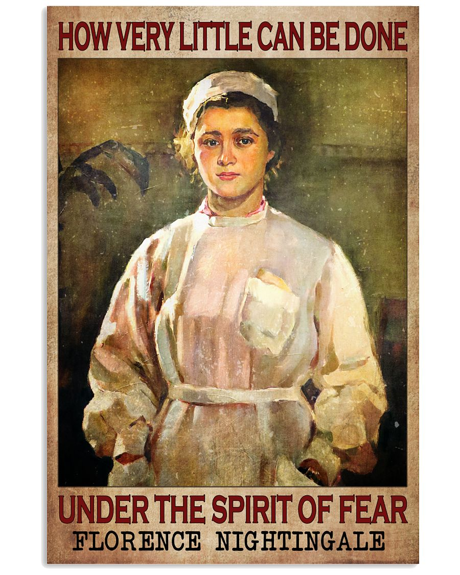How Very Little Can Be Done Under The Spirit Of Fear Poster