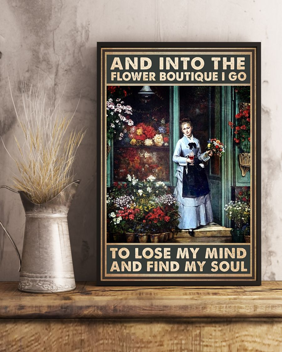 Review Into The Flower Boutique I Go To Lose My Mind Poster