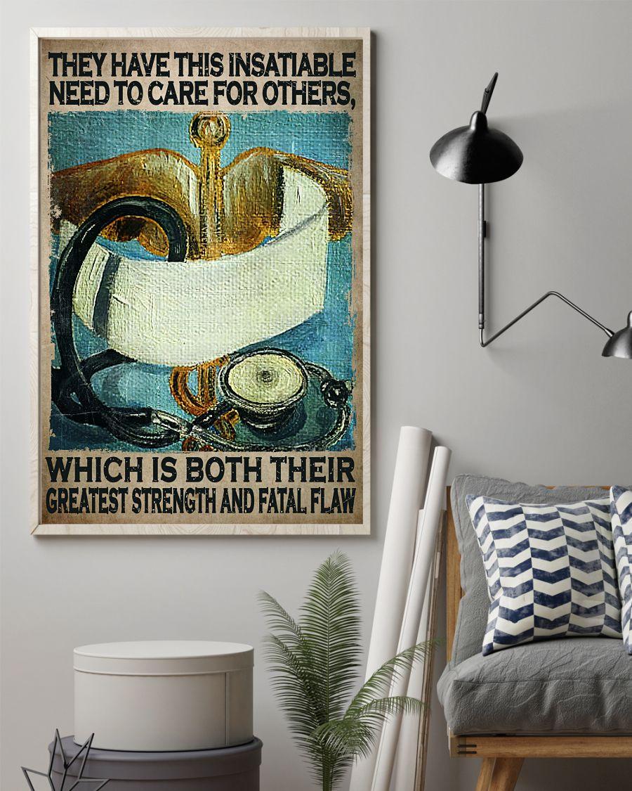 Drop Shipping They Have This Insatiable Need To Care For Others Poster